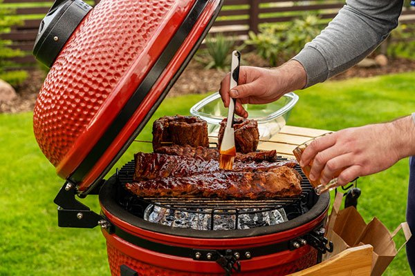 how to use a vertical propane smoker with wood chips